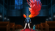 Touka's crystalized kagune