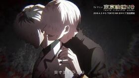 """東京喰種:re""ד女王蜂「HALF」""Collaboration Movie"
