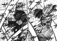 Arima slashes Kaneki