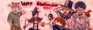 Halloween Illustration by Ishida Sui (28 october 2011)