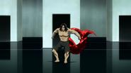 Shachi's kagune in anime