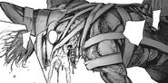 Eto's head regeneration