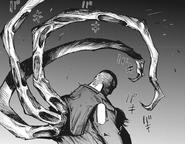 Uta's kagune — 3 tentacles