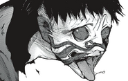 Urie's forming kakuja mask