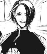 Kichimura Washuu promising to exterminate every single ghoul