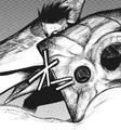 Urie's koukaku kagune – shield and blade