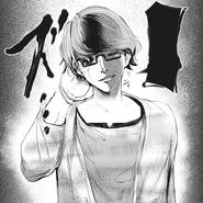 Nishiki's appearance in Volume 1