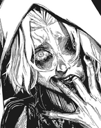Seidou as one-eyed ghoul