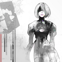 NieR Automata OST Vinyl Cover by Ishida Sui.png