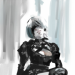 YoRHa No 2 Type B Illustration by Ishida Sui (29 september 2018).png