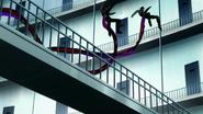 Noro's bikaku-kagune — twin-tails (anime)