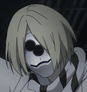 Hooguro's mask in the anime