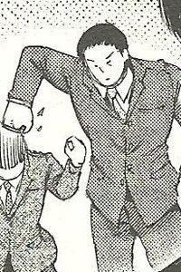 Yanagi hits Toujou's head.JPG