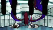 Noro's bikaku-kagune — twin-tails 2 (anime)