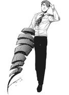 Shuu's kagune - spiral ribbon