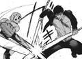Naki's Kagune in action