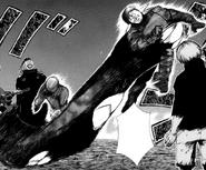 Noro's kagune manga