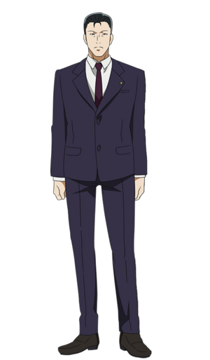 Kousuke Houji anime design front view.png