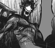 Furuta's rinkaku kakuja form — flesh armor