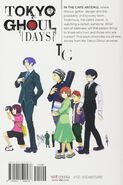 Tokyo Ghoul Days (Backcover US)