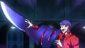 Shuu making blade from his kagune