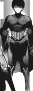 Sasaki's battle suit during Cochlea attack
