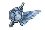 White wing medal single