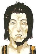 Kazuo profile illustration