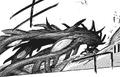 Furuta's rinkaku kakuja form — centipede-like tentacles