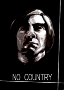 Ishida's illustration of Javier Bardem