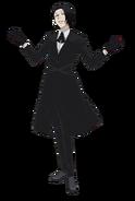 Kichimura Washuu Anime Design