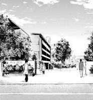 Kamii-University-X1-Entrance
