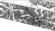Touka uses lightning bolts