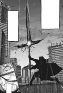 Koutarou's kagune manipulation — Doujima Sword
