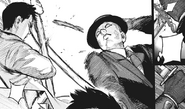 Kaiko throws his dagger
