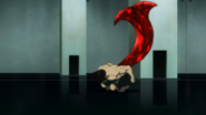 Shachi's kagune in anime (side view)