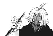 Takizawa's evolved kakuja mask