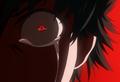 Kaneki's crying red eye