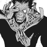 Amon's second kakuja form — activation