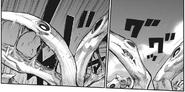 Hinami's chimera kagune - enchanced koukaku petals