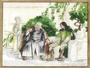 Ecthelion,Thorongil and Boromir study by Katarzyna Chmiel-Gugulska