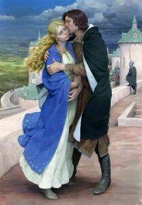 Éowyn e Faramir by Denis Gordeev.jpg