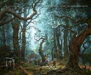 Entering Mirkwood by Ted Nasmith