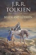 Copertina Beren e Lúthien by Alan Lee
