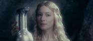 Galadriel specchio Cate Blanchett