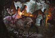 Home to Rivendell by Raoul Vitale