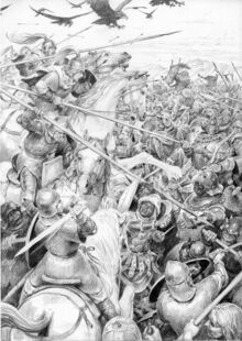 Battaglia del Morannon by Denis Gordeev.jpg