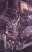 The Battle of the Hornburg by Alan Lee