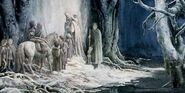 Le porte di Moria by Alan Lee
