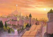 Eärendil Searches Tirion by Ted Nasmith